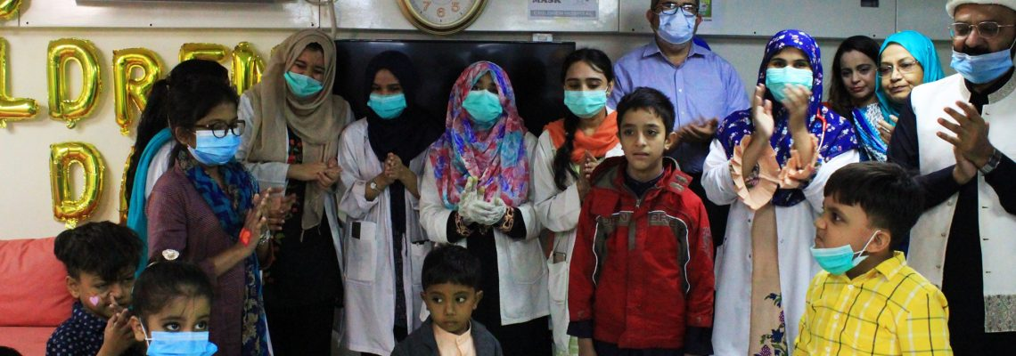 World Children's Day Celebration at Children's Hospital Karachi.